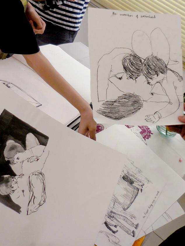 Talking to artist Phan Thảo Nguyên at her studio, HCMC