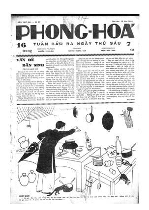 Tuần Báo Phong Hóa 047.19-05-1933 front