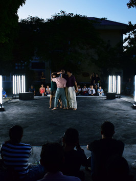 X Project - Contemporary dance by MORUA at Huế College of Arts