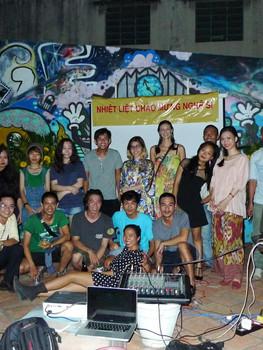 Sao La March Art Walk Party