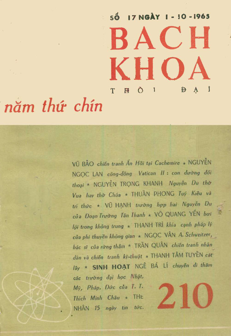 1965_Bách_Khoa_-_Issue_210_front_cover.