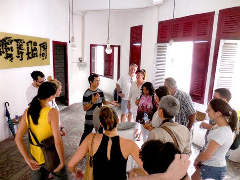 1504 SAT HCMC Sao La March Art Walk 2.JP