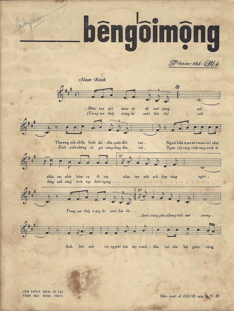 Copy of 1965 Bên Gối Mộng (On Dream Pill