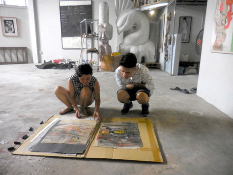 1506 SAT Hanoi Cuci Gallery Bill and Hoa
