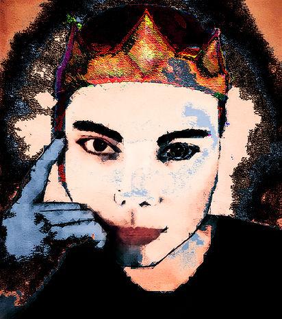 Acrylic painnting, digital edit, contemporary art