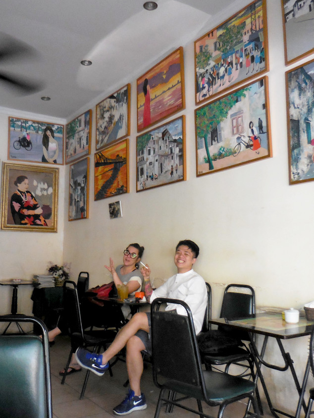 Hanoi tour research meeting