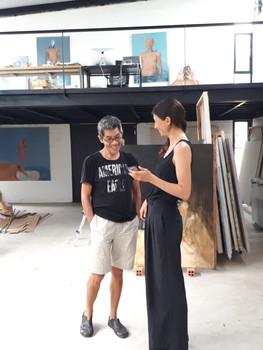 Studio visit with Đỗ Hoàng Tường