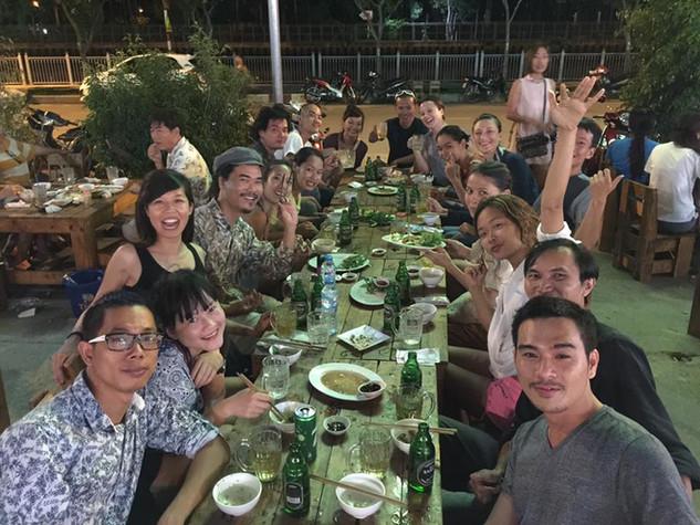 Sàn Art Laboratory celebration dinner