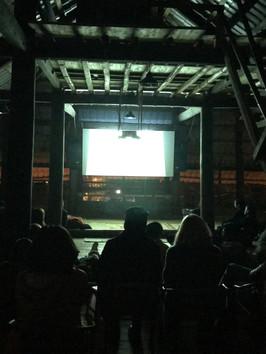 Film screening at Xóm Bắc Cầu, Hanoi
