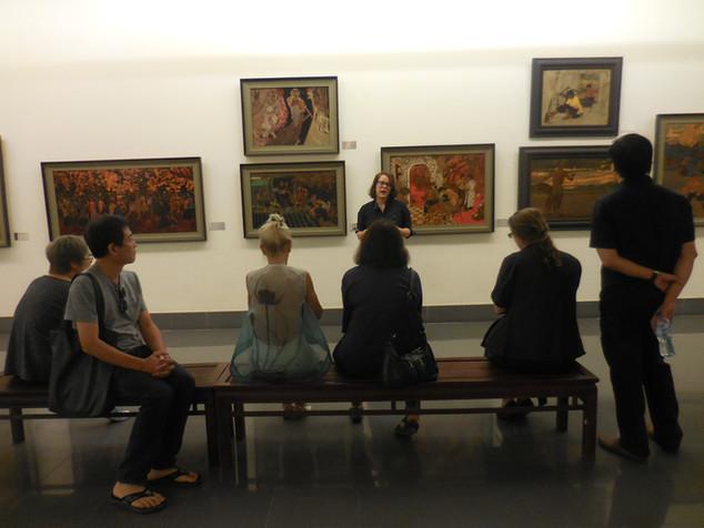 Hanoi Art Tour at the Fine Arts Museum
