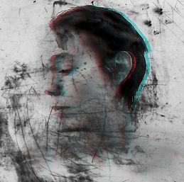 contemporary art, sadness, depression. Overwhelmed caregiver