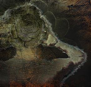 Digital Manipulation of woman and plants