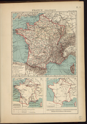 1929 High Resolution of Indochina Map -