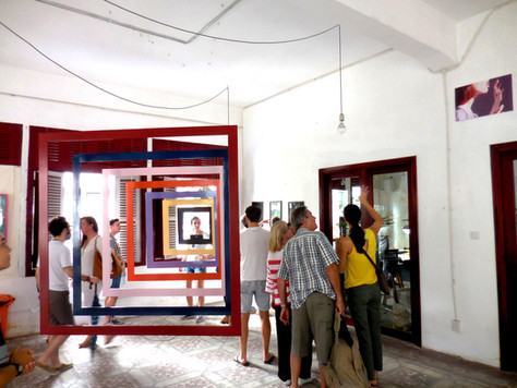 1504 SAT HCMC Sao La March Art Walk .JPG