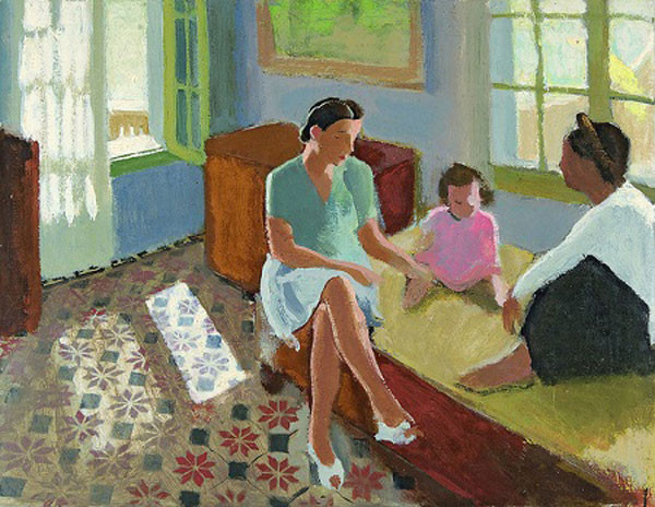 Copy of 1930c Jannette, Dominique and Nu