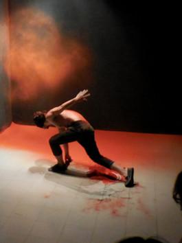 Performance by Tuấn Mami at Nhà Sàn Collective