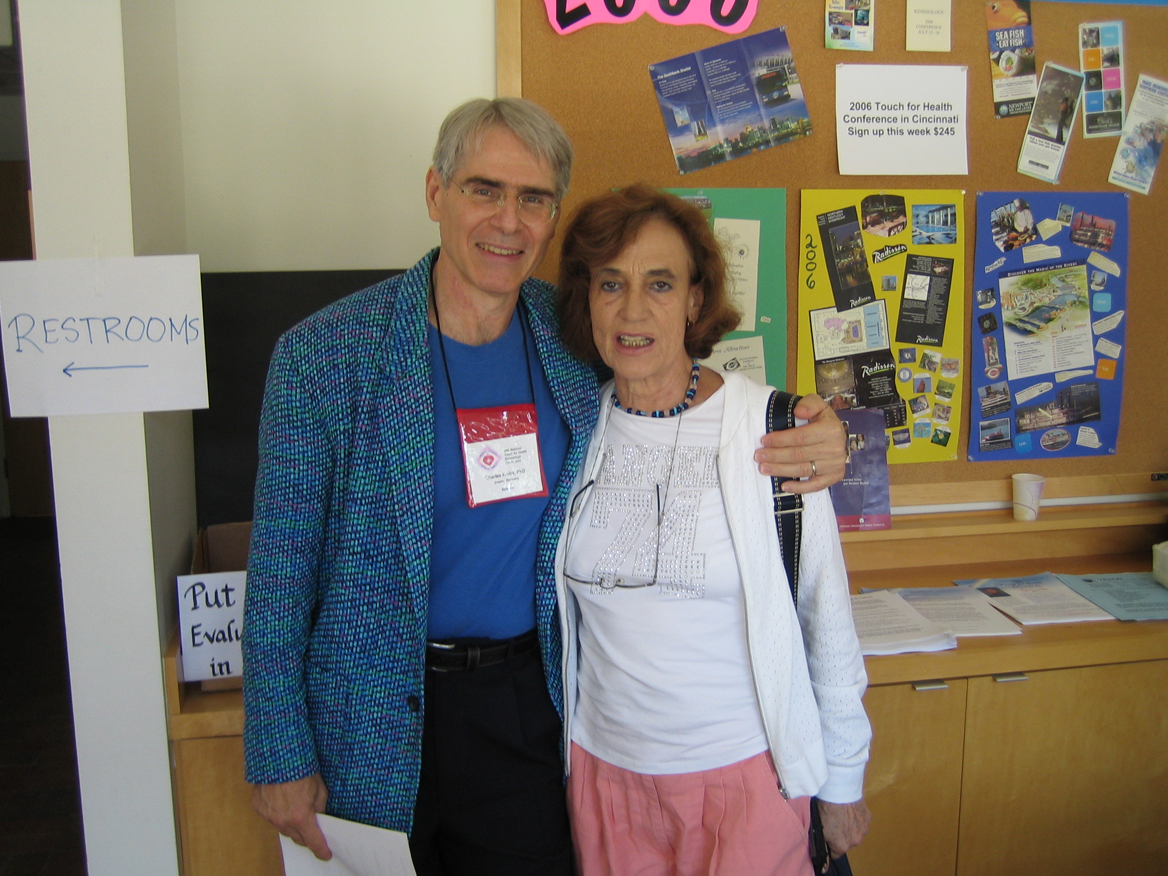 Francisca y Dr.Charles Krebs
