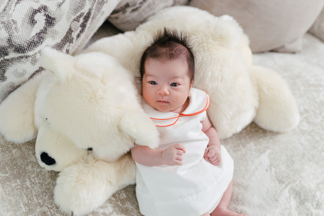 Newborn Baby Mädchen