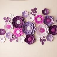 Сет №38 из 20 цветов с листочками