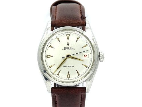 Vintage 1962 ROLEX 6094 OYSTERDATE PRECISION Hand-Winding Watch
