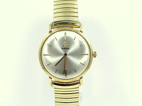 1960's Mens Vintage RADO 682/5 14k GOLD Swiss Mechanical Hand-Winding Watch