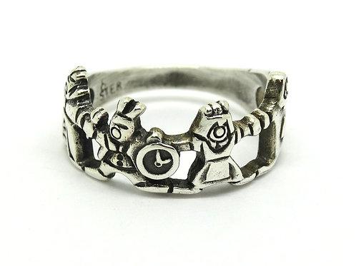 Disney's ALICE IN WONDERLAND 925 Silver Ring