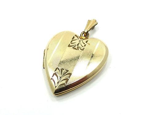 America precious metals san jose ca gold silver jewelrycoins antique art deco ww2 heart locket 120 12k gold filled pendant aloadofball Choice Image