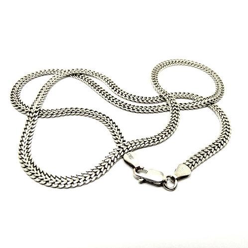 Italian Sterling Silver Flat Snake Chain