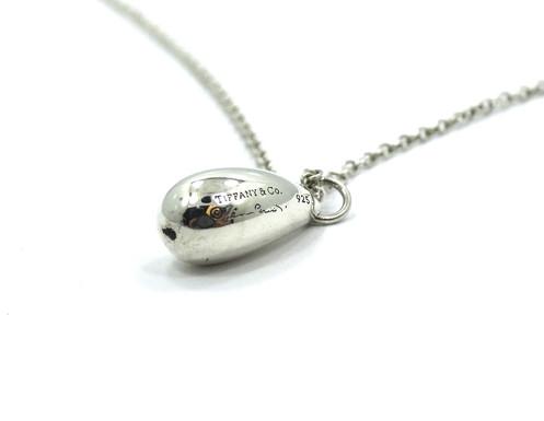 ce9a65591 Sterling Silver TIFFANY & CO. Teardop ELSA PERETTI T&Co. Necklace 16
