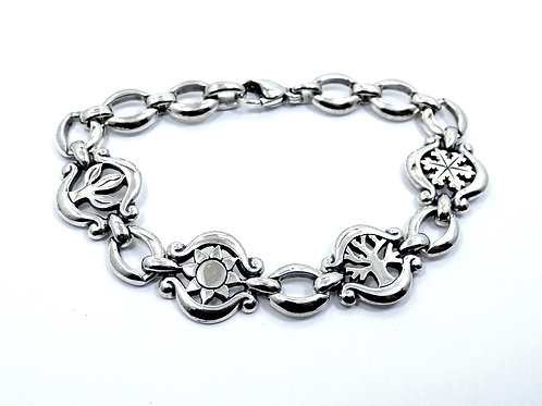 Super RARE Retired JAMES AVERY 4 SEASONS Sterling Silver Bracelet