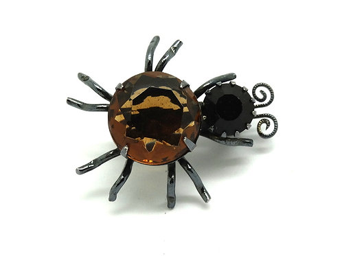 Cutesy Crawler ALEX & ANI Rhinestone Bug Pin
