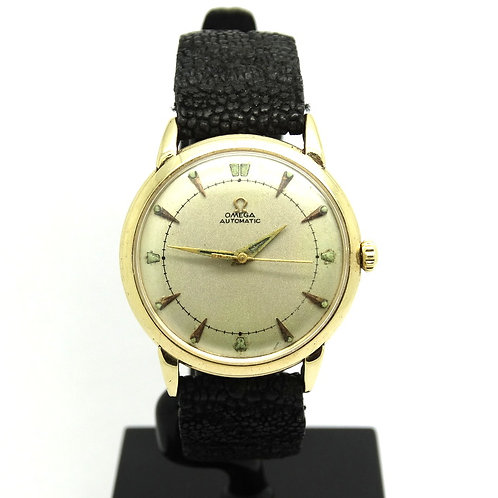 OLD Vintage OMEGA G6525 Automatic 14k Gold Watch