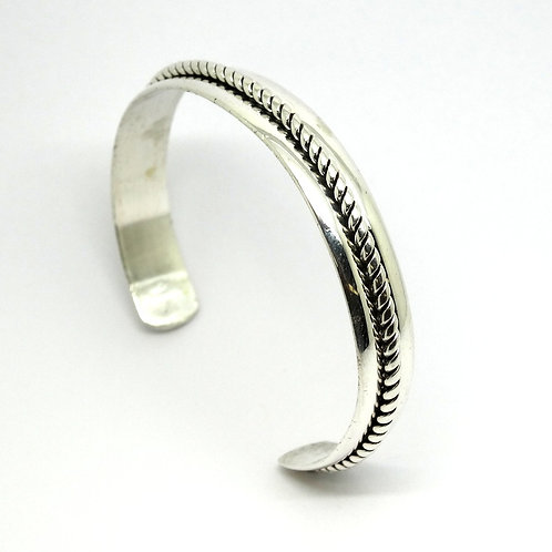 Bell Trading Post NAVAJO Sterling Silver CUFF Bangle