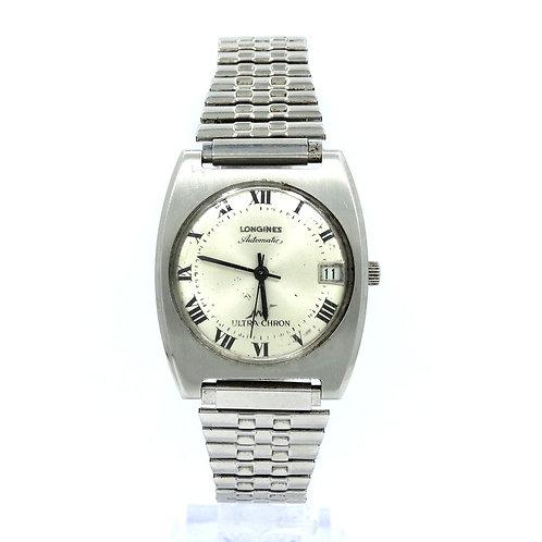 1970's LONGINES ULTRA-CHRON 431 Swiss Automatic 17 Jewel Stainless Steel Watch