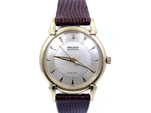 Vintage 1956 GRUEN Swiss 23 Jewel Automatic 10K Gold Filled Watch 930SS-948