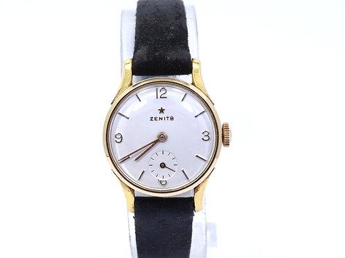 Vintage Ladies 1959 ZENITH Swiss Hand Winding 40 Micron GOLD FILLED Watch