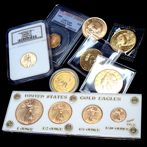 1 OZ 999 Solid Gold