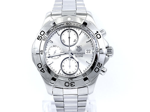 TAG HEUER AQUARACER CAF2111 Automatic Stainless Steel Chronograph Diver Watch