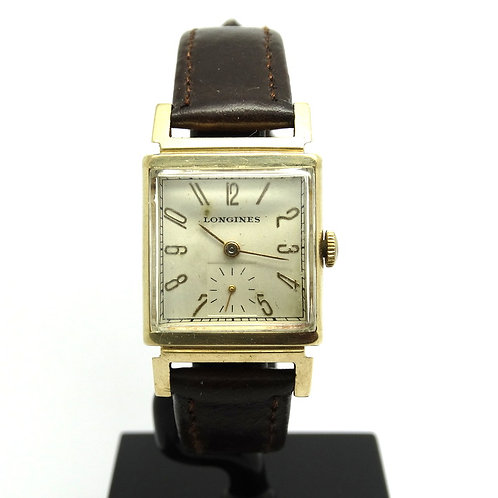 Vintage 14k Gold USA LONGINES Wadsworth 17J Watch