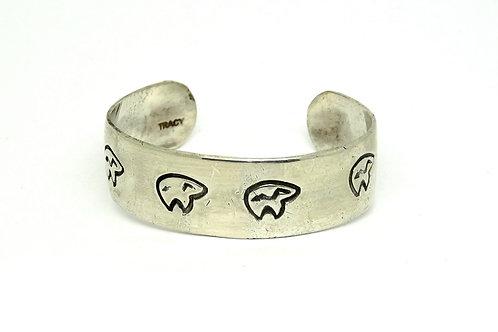 Baby's Sterling Silver TRACY Navajo Bear Bracelet