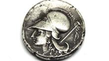 Athena Pegasus Silver Stater Coin 375 B.C. to 340 B.C.