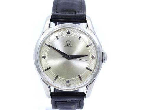 Vintage 1952 Classic OMEGA 2640-6 SC 17 Jewel 283 Swiss Winding St Steel Watch