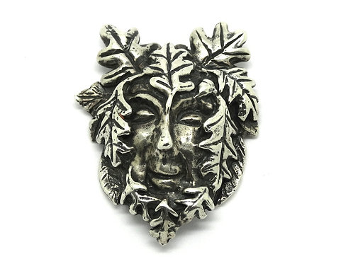 Father AUTUMN Oak Tree Leaves AW Sterling Silver Pendant