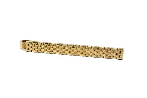 Vintage KREISLER USA Gold Tone Tie Clip
