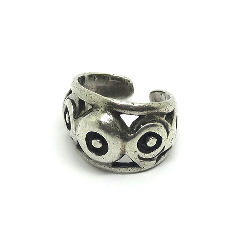 Norway Modernist BERNSTEN HUGHES 925 Silver Ring
