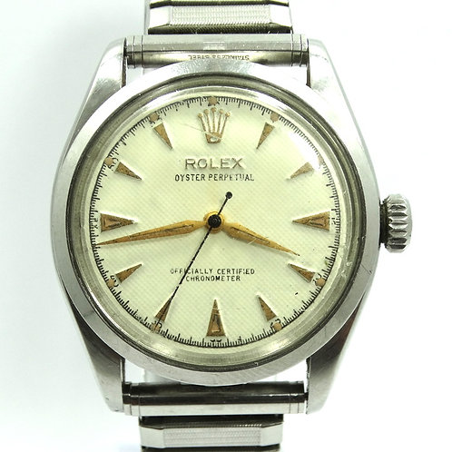 Vintage 1954 III ROLEX 6284 Oyster Perpetual Chronometer BUBBLE-BACK Watch