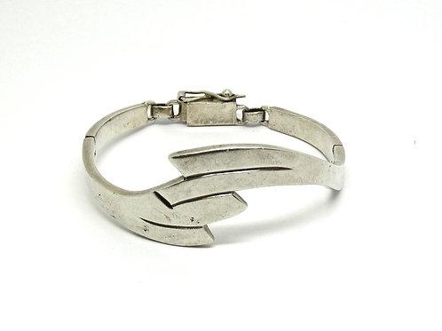 Modernist RIC ERIKA HULT de CORRAL Silver Bracelet