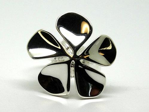 ROBERT LEE MORRIS RLM Flower 925 Silver Ring