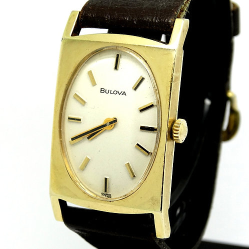 Vintage Ladies BULOVA 10k RGP Gold 17J Watch 6CL