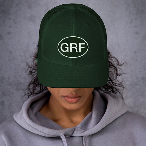 GRF Hat (Baseball) Forest Green